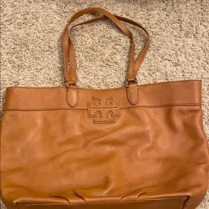 Large Tory Burch leather tote